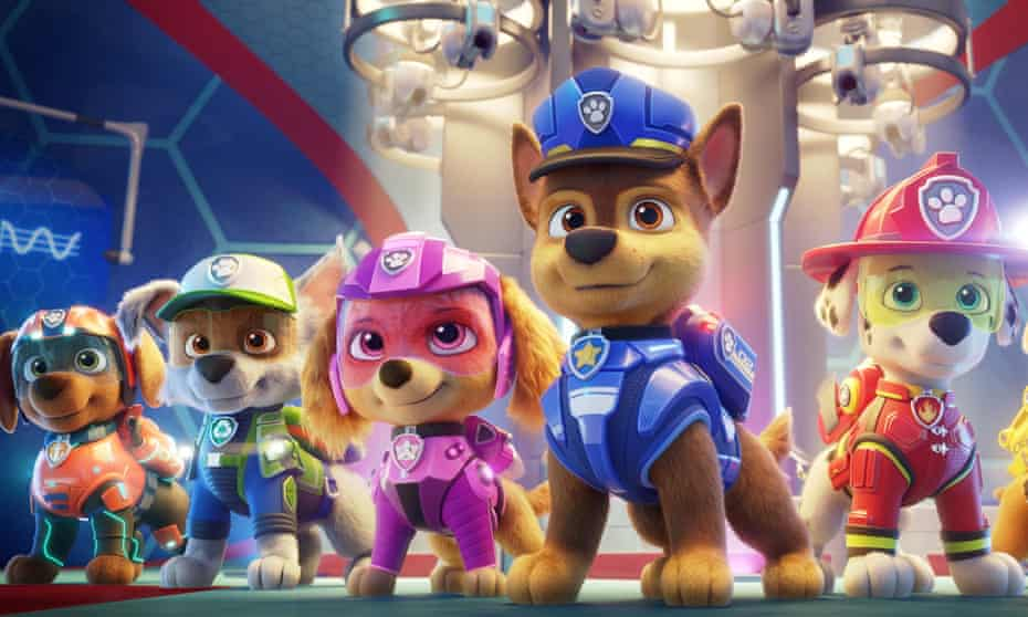 'The genius of Paw Patrol is that they create toys that look like the characters because the characaters look like toys in the first place': Séamas O'Reilly.