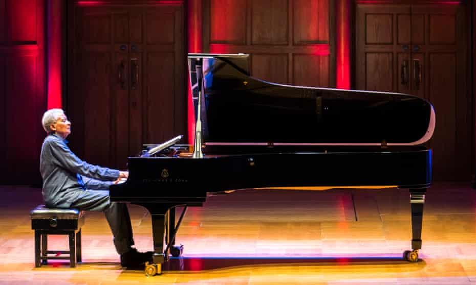 Abdullah Ibrahim performing at Cadogan Hall.
