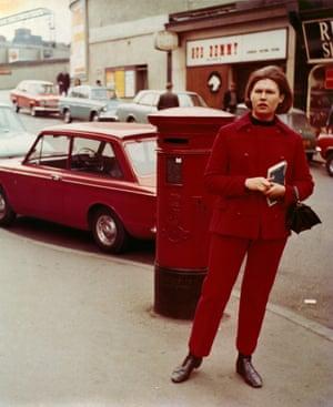 Martin Parr's earliest colour photograph, 1971.