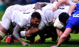 Courtney Lawes is one of six forwards on the England bench for a tricky trip to Murrayfield.