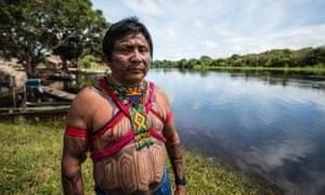 Arnaldo Kabá Munduruku, cacique-geral of the Munduruku