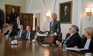 Robin Wright, stepping up sublimely in House of Cards season 6.