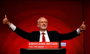 Jeremy Corbyn at the 2016 Labour conference