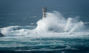 Waves breaking on Longships lighthouse: Cornish politicians are warning of a crisis of democracy in the county.