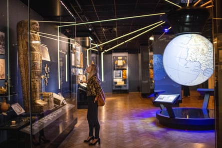 New Plymouth Museum And Art Gallery Opens With Mayflower And Mammoths Plymouth The Guardian