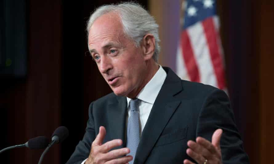 Bob Corker said: 'We should not assume their latest story holds water.'