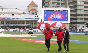 Match abandoned due to rain.