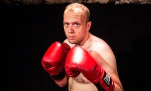 James McNicholas in The Boxer at the Pleasance Courtyard, Edinburgh.