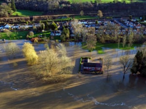 Flooding in Bewdley as the River Severn remains high