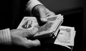 Participants were paid in Russian roubles, which could be spent on set.