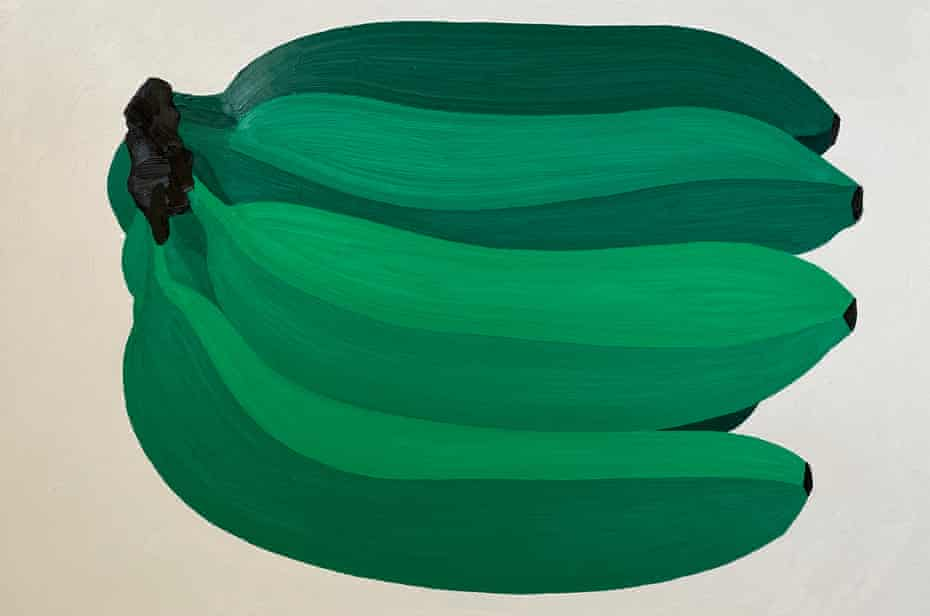 Jenny Van Sommers' Giant Green Bananas