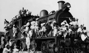 Muslims Fleeing India For Pakistan September 1947
