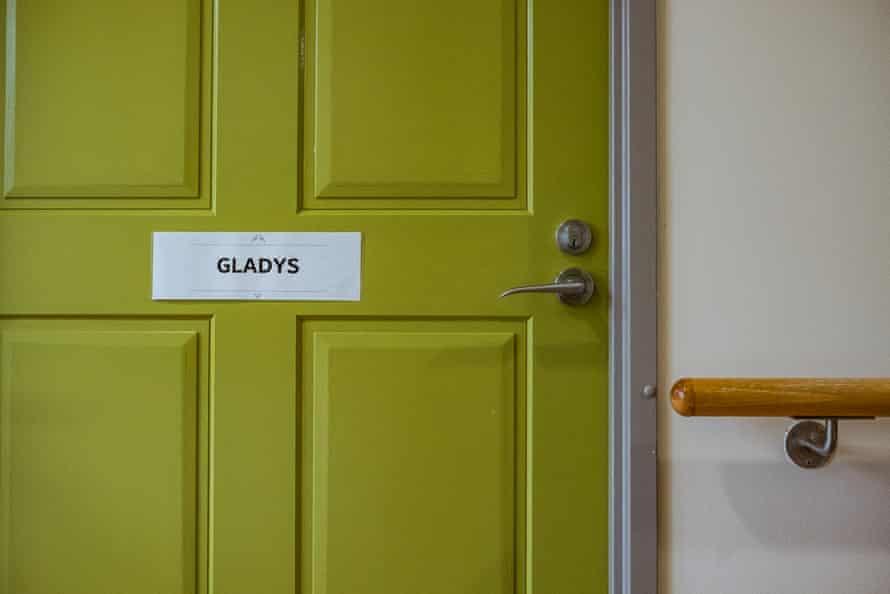 The door to Gladys room.