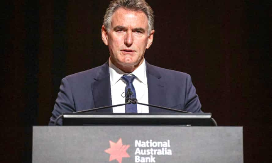 The chief executive of National Australia Bank, Ross McEwan