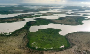 Lake Chad in the Bol region, 200km from Chad's capital city, N'Djamena.