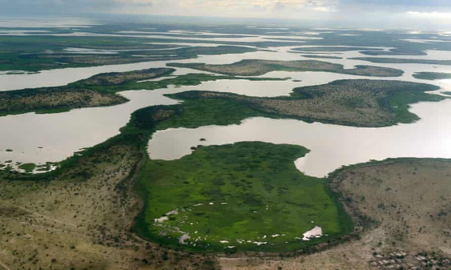 Lake Chad in the Bol region, 200km from Chad's capital city, N'Djamena.