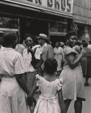 125th Street, Harlem, New York, 1946