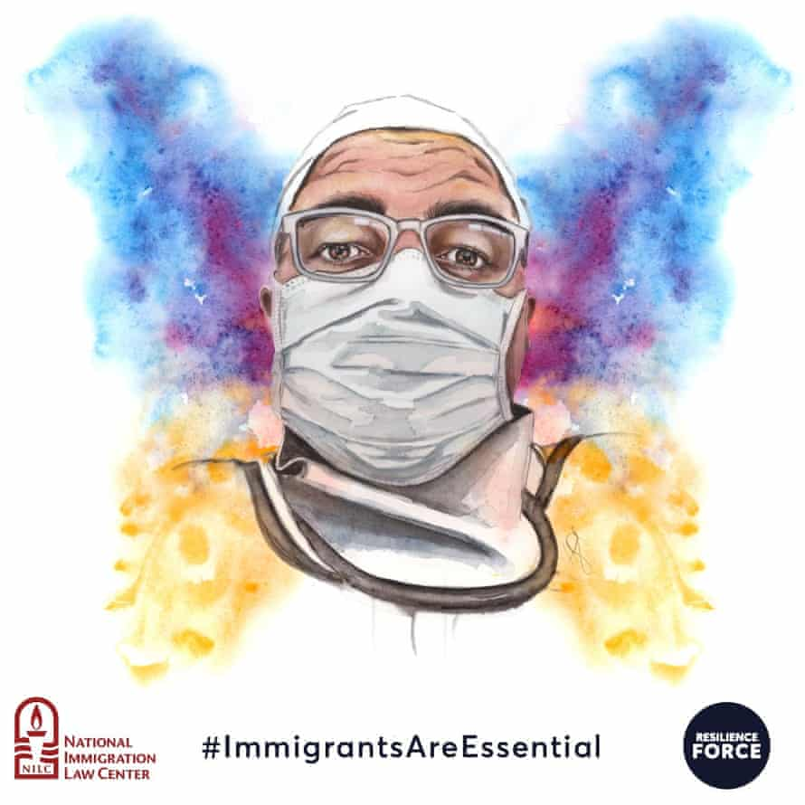 Jose Aguilez is a DACA recipient who is a nurse on the frontline of the pandemic