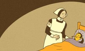 Victorian illnesses illustration