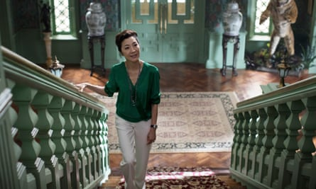 Keeping mum: Michelle Yeoh in Crazy Rich Asians.
