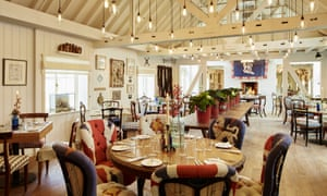 Light fantastic: the newly refurbished Farmer, Butcher, Chef restaurant