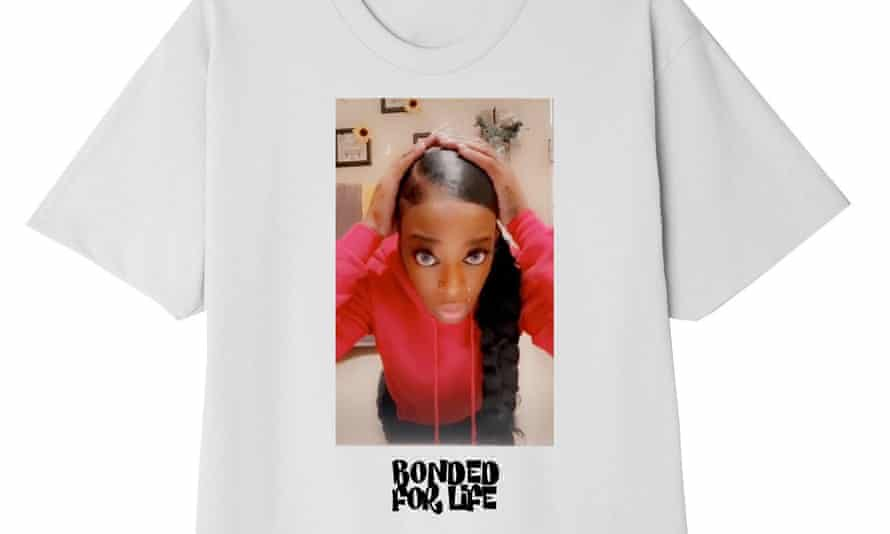 Tessica Brown's Bonded For Life t-shirt from Forever Hair