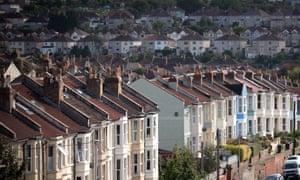 Houses in Bristol.