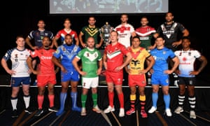 Rugby League World Cup 2017 captains