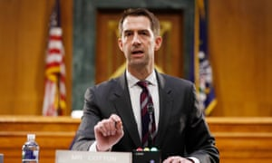 Senator Tom Cotton penned the controversial op-ed published by the New York Times on Wednesday.