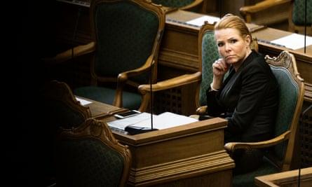 'Denmark's Minister of Immigration and Integration Inger Støjberg