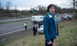 'Him is based on one of my sons. He knows, and is fine with it' … Fionn Whitehead as Him.