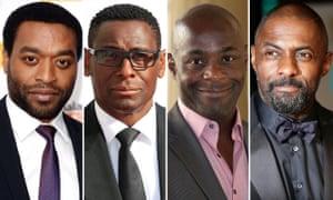 Chiwetel Ejiofor, David Harewood, Paterson Joseph,  Idris Elba
