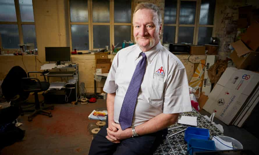 John Wood, director of the Lancashire-based Canatronics