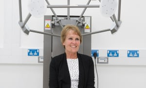 Gina Rippon shot at Aston Brain centre