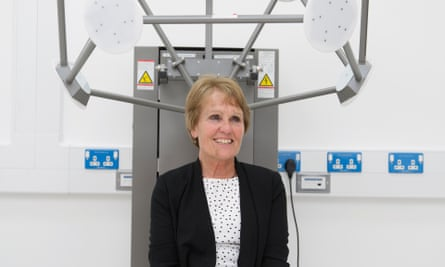 Gina Rippon shot at Aston Brain centre