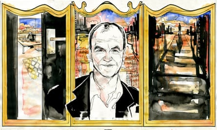 'I have been chasing words for the better part of 50 years' … Scott Turow. Illustration by Alan Vest