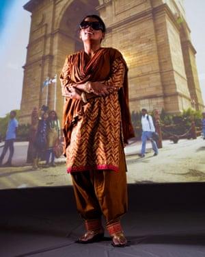 Anu Mukherjee in Delhi
