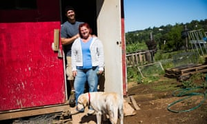 Regenerative farmers Rob Neuhauser and Tammi Riedl