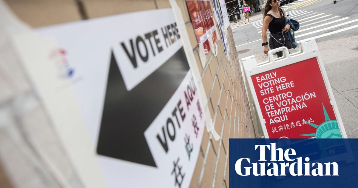 New York City's tumultuous mayor's race closes as voters struggle to choose - the guardian