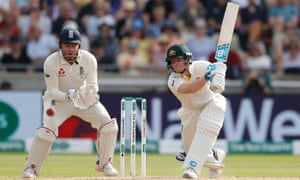 Australia's Steve Smith maintained his mastery over England on the third day at Edgbaston.
