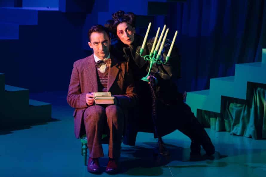 Matthew Backer and Lucia Mastrantone in Young Frankenstein