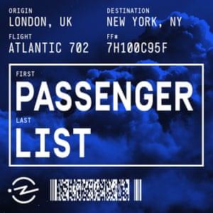 Passenger List.