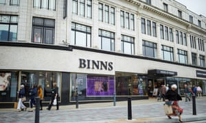 Set to close: Binns department store in Darlington