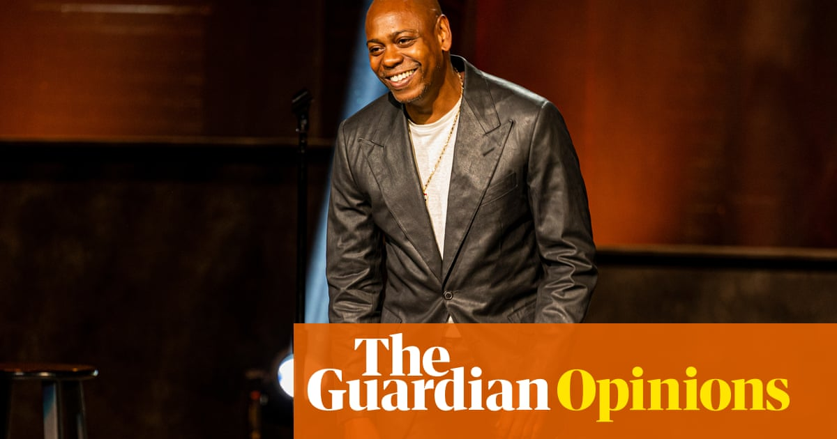Dear Dave Chappelle, transgender comedians can take a joke, but why are yours so unfunny?