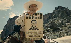 Tim Blake Nelson in the Coen brothers' The Ballad of Buster Scruggs.