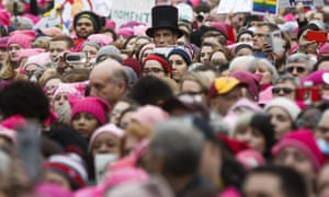 The Women's March on Washington gets underway