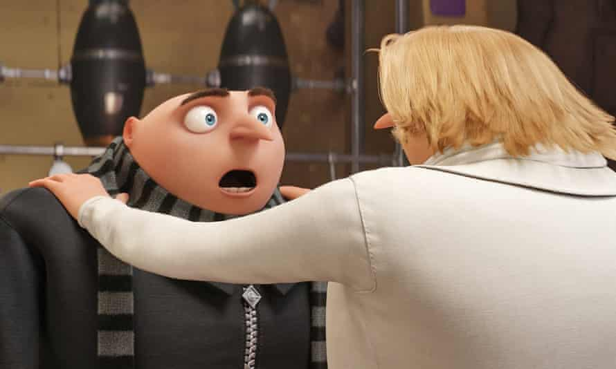 Gruesome twosome ... Despicable Me 3.