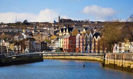 A cruel but curiously buzzing city … Cork, Ireland.