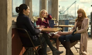 Power struggle … Jane Chapman (Shailene Woodley), Madeline Mackenzie (Reese Witherspoon) and Celeste Wright (Nicole Kidman.