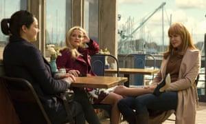 The moneyed honeys of Monterey … Reese Witherspoon, Nicole Kidman and Shailene Woodley.